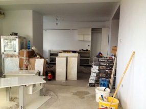 Renovation project in progress